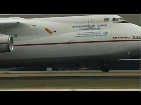 The World's Biggest Plane (Antonov 225 AN): Exclusive look inside ORIGINAL AUDIO