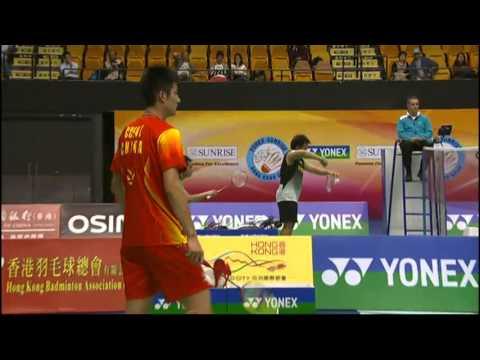 QF - MS - Chen Long vs Sho Sasaki - 2012 Yonex-Sunrise Hong Kong Open