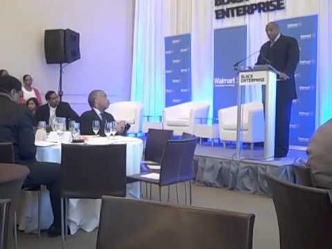 Black Enterprise Walmart Forum June 2011 Introduction