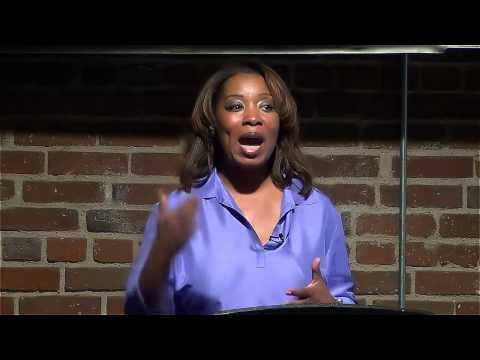 Eyvette Jones-Johnson at TEDx SkidRow