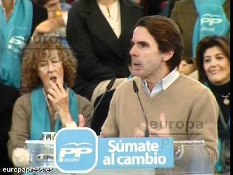 Aznar: Han aceptado las puñaladas de la UE