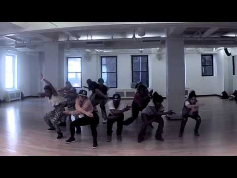 "LAURE COURTELLEMONT - DANCEHALL CLASS @ BDC (New York City) - ""BAD INNA DANCE "" By Aidonia"