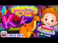 Alphabet K Song | Learning English Is Fun™ | ChuChu TV Phonics & Words For Preschool Children