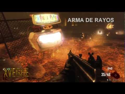 Call Of Duty: Black Ops 2 Zombies Todas Las Armas y Mejoras (X2 - X3) Green Run