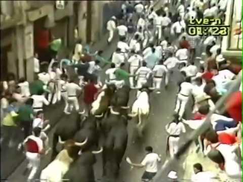 Encierro de San Fermín   12 de julio de 1987 480p