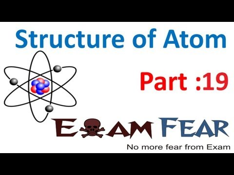 Chemistry Structure of Atom part 19 (Bohr model of atom) CBSE class 11 XI