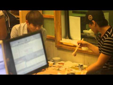 120607 Sukira - Sungmin & Ryeowook eating