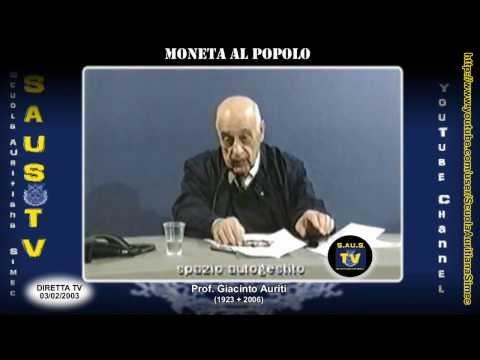 Moneta, energia e Imperialismo USA/Federal Reserve - 3 Febbraio 2003 (HD)
