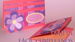 Tarjeta Fácil Cumpleaños - Easy Birthday Card