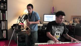 Payphone (Sax/Piano Cover) AJ Rafael & @PeterMartin91 - Maroon 5