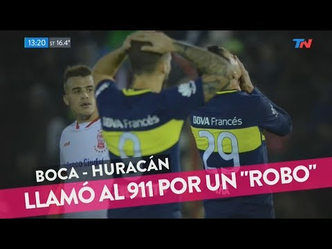 El audio del hincha de Boca que llamó al 911 tras el partido con Huracán.
