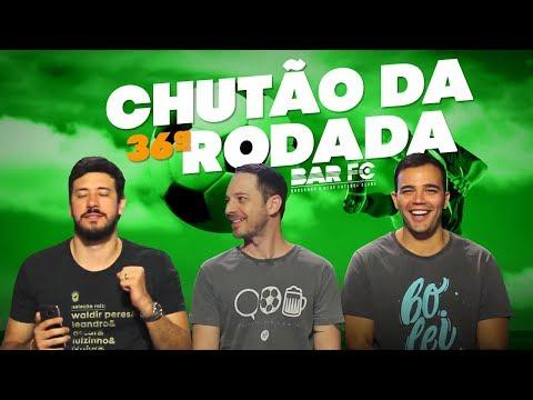O MITO DAS CRAVADAS - CHUTÃO DA 36ª RODADA