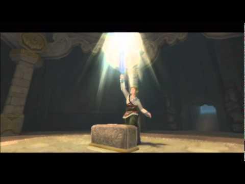 TLoZ Skyward Sword Part 4: Link Speaks