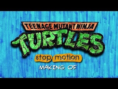 TMNT Stop Motion Intro Making Of (1987)