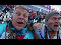 Фрагмент с начала видео Олимпиада 2014. Биатлон. Эстафета. Мужчины.