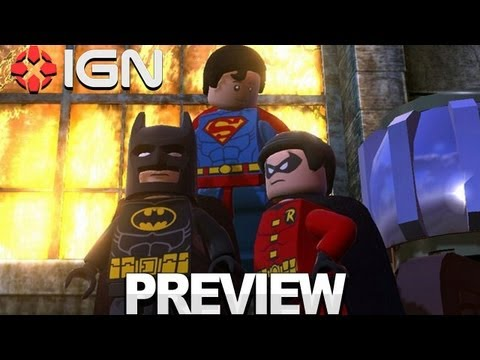 LEGO Batman 2 Preview - DC Super Heroes