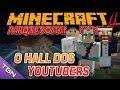 Minecraft Parque dos Dinossauros II :: Ep 10 :: O HALL DOS YOUTUBERS