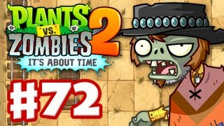 Plants vs Zombies 2 It39s About Time - Gameplay Walkthrough Part 72 - Big Bad Butte iOS