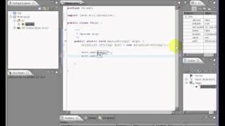 Java Eclipse ArrayList Beispiel (Deutsch)