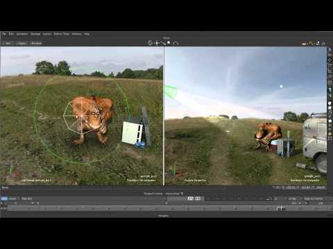 Motionbuilder Tutorial: MotionBuilder 2014 New Features: Look Through Selected