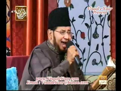 Urdu Naat( Pekar e Dil Ruba )Akhtar Qureshi In Qtv.By  Naat E Habib