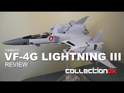 Macross VF-4G Lightning III Toy review
