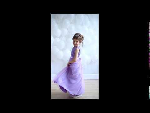 Нарядное платье Корнелия сиреневое