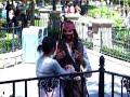 Disneyland Captain Jack Sparrow Meet & Greet CLIP 09/04/06