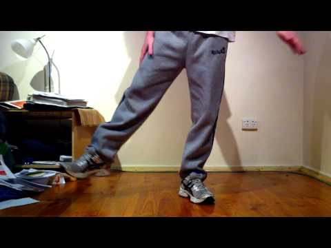 Shuffling Tutorial - How to do Robot Dance from Party Rock Anthem