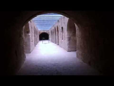 under the Amphitheatre of El Jem (by Omar Fakhfekh)