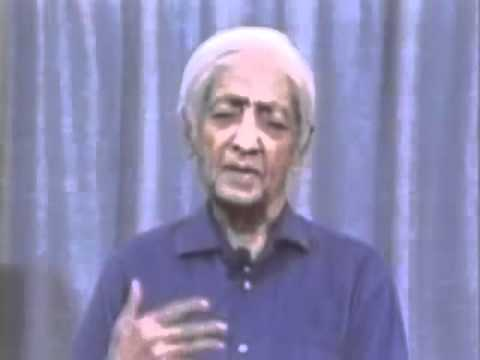 Krishnamurti - Brockwood Park  1984 - Italiano  Talk2