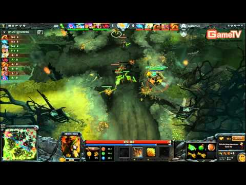Dota2 | Alliance vs SSD SLTV SS8 4 1 2014