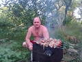 Херсонские плавни  2007,Рыбалка на Гнилуше под шашлычок