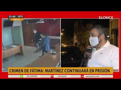 Femicidio de Fátima Acevedo: Martínez continuará en prisión