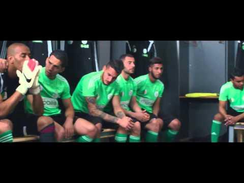 The Best Team Dzfoot One Two Three, Viva l'Algérie - CAN 2015 Coupe d'Afrique des Nations Algeria