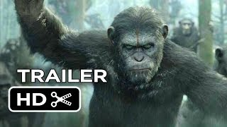 Dawn Of The Planet Of The Apes Official Trailer (2014) - Gary Oldman Movie HD