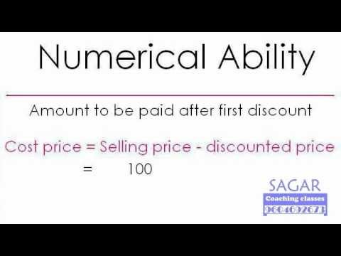 Maths Word Problems : TRUE Discount (20 + 25 = 40) - Sagar Coaching Classes