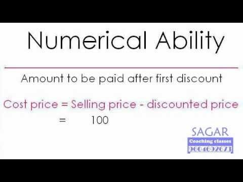 Maths Word Problems : TRUE Discount (20 + 25 = 40) - Sagar Coaching Classes
