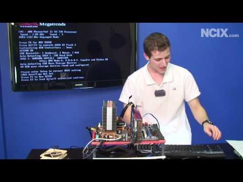 Fixing a Bent / Broken Pins on a CPU (NCIX Tech Tips #36)