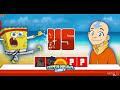 Фрагмент с средины видео Super Brawl Summer (Губка Боб супер драки) - прохождение игры