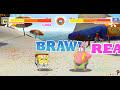 Фрагмент с конца видео Super Brawl Summer (Губка Боб супер драки) - прохождение игры
