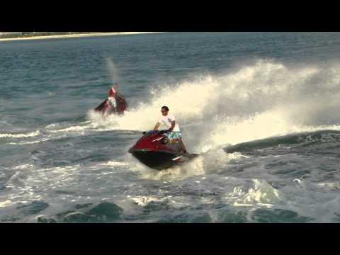 فيديو لمحب البحر ورياضة الجيت سكي