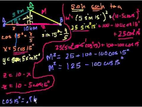 Problema di Trigonometria a Parole (Parte 2)