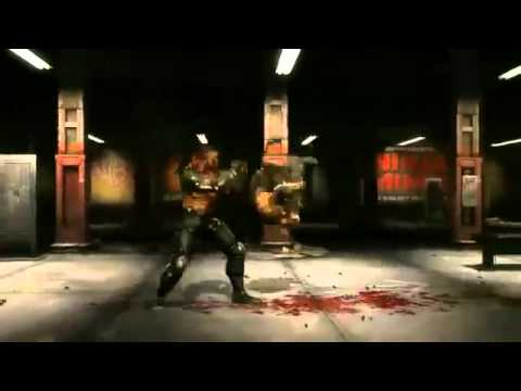 MK9 Jax vs Kano Gameplay Mortal Kombat 2011 Bramd new mk9 gameplay