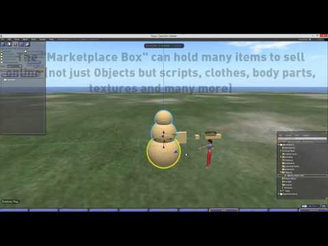 Con Wylie's OpenSim Marketplace