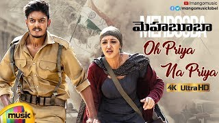 Oh Priya Na Priya Full Video Song 4K - Mehbooba