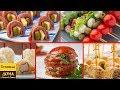 5 легких закусок для фуршета на День рождения! Часть 1. 🍢🍢🍢 Вкусно, Просто и Легко!