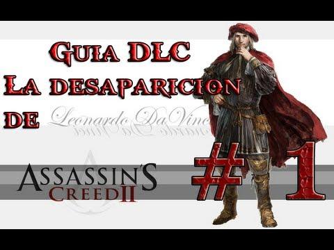 Guia DLC La Desaparicion de Da Vinci part 1