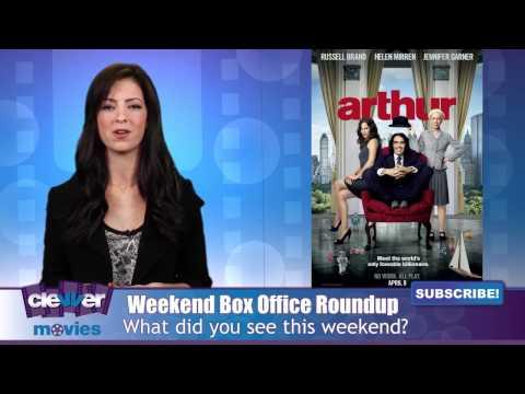 -Hop- Tops & -Arthur- Flops At Weekend Box Office