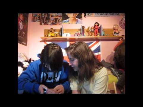 Primer programa de Marina y Dani